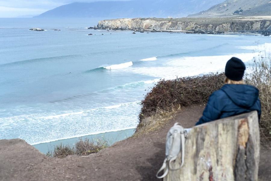 beach camping central california big sur