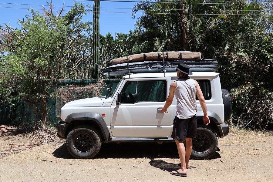 santa teresa costa rica surf trip car rental