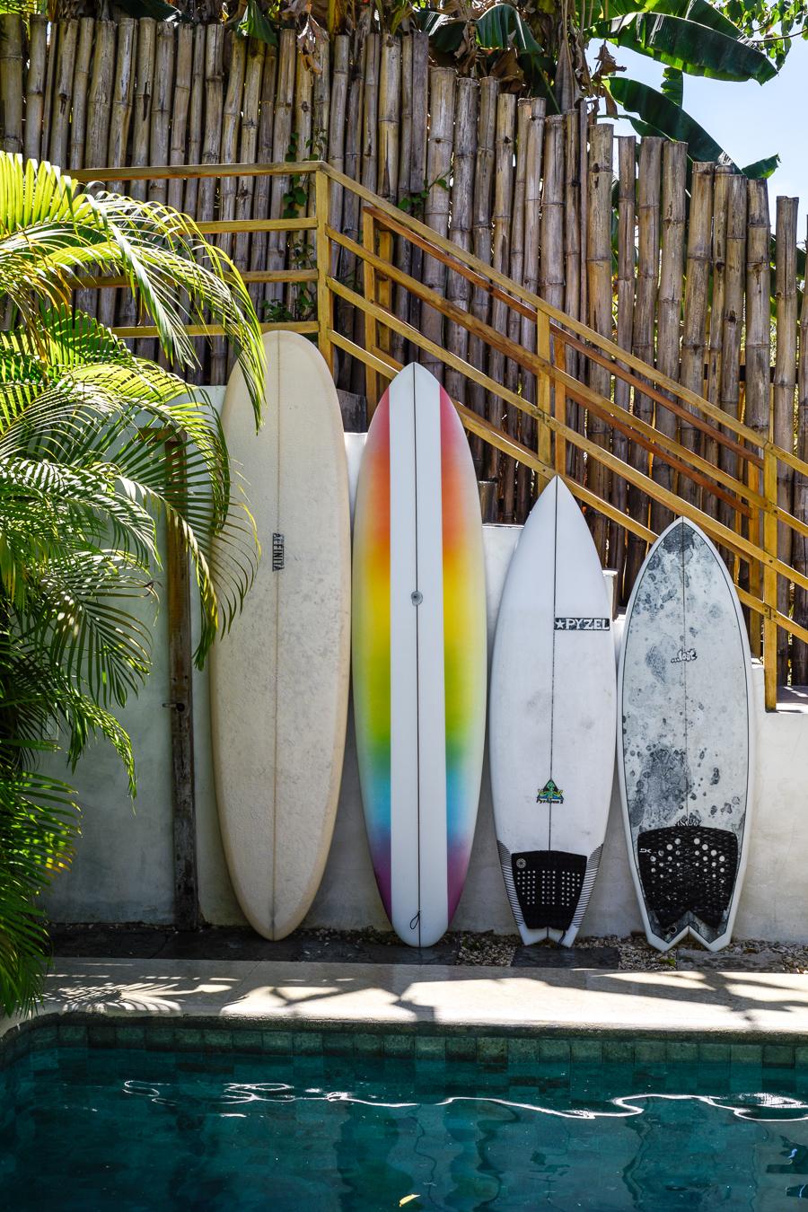 surfboards / santa teresa costa rica surf trip