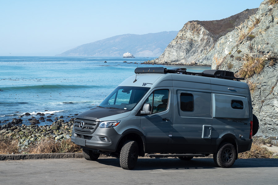 rv rental california campervan