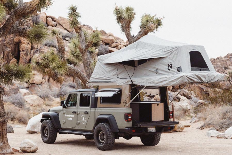 rv rental los angeles jeep camper