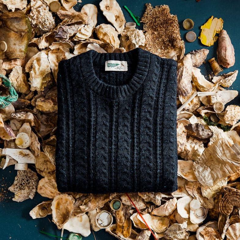 sustainable sweater by Wellen surf brand