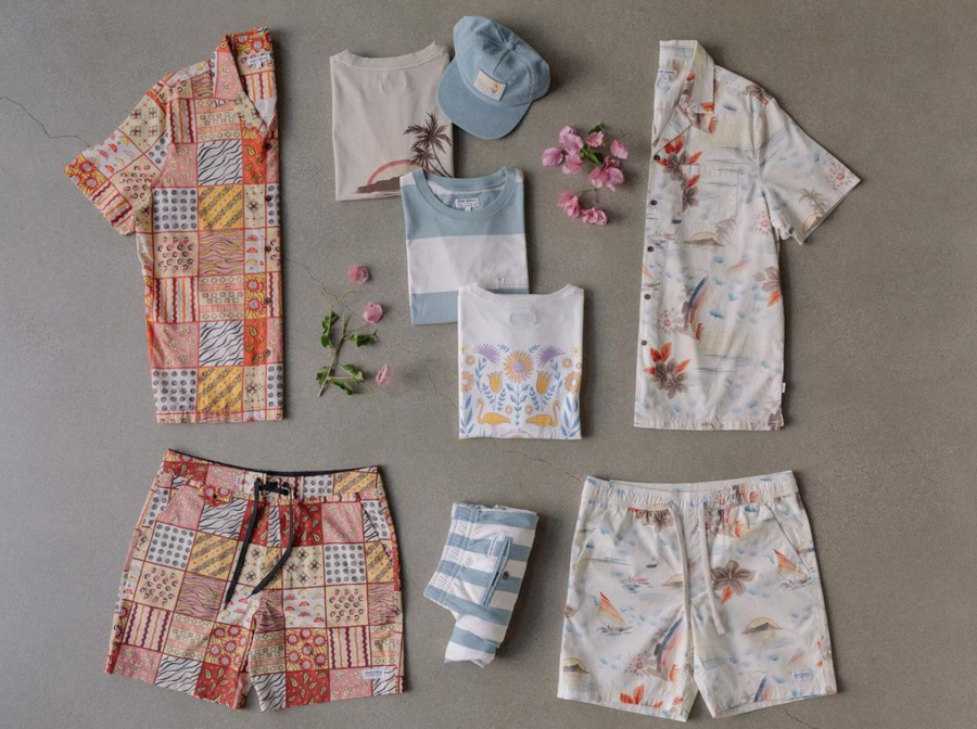 colorful clothing by surf brand banks journal