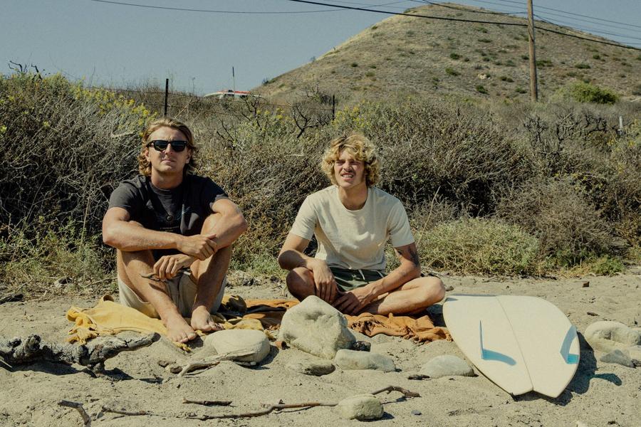 surf clothing by Rhythm surf company