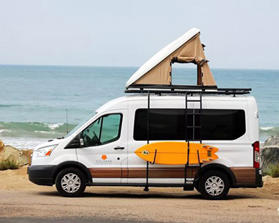 outdoorsy campervan rentals