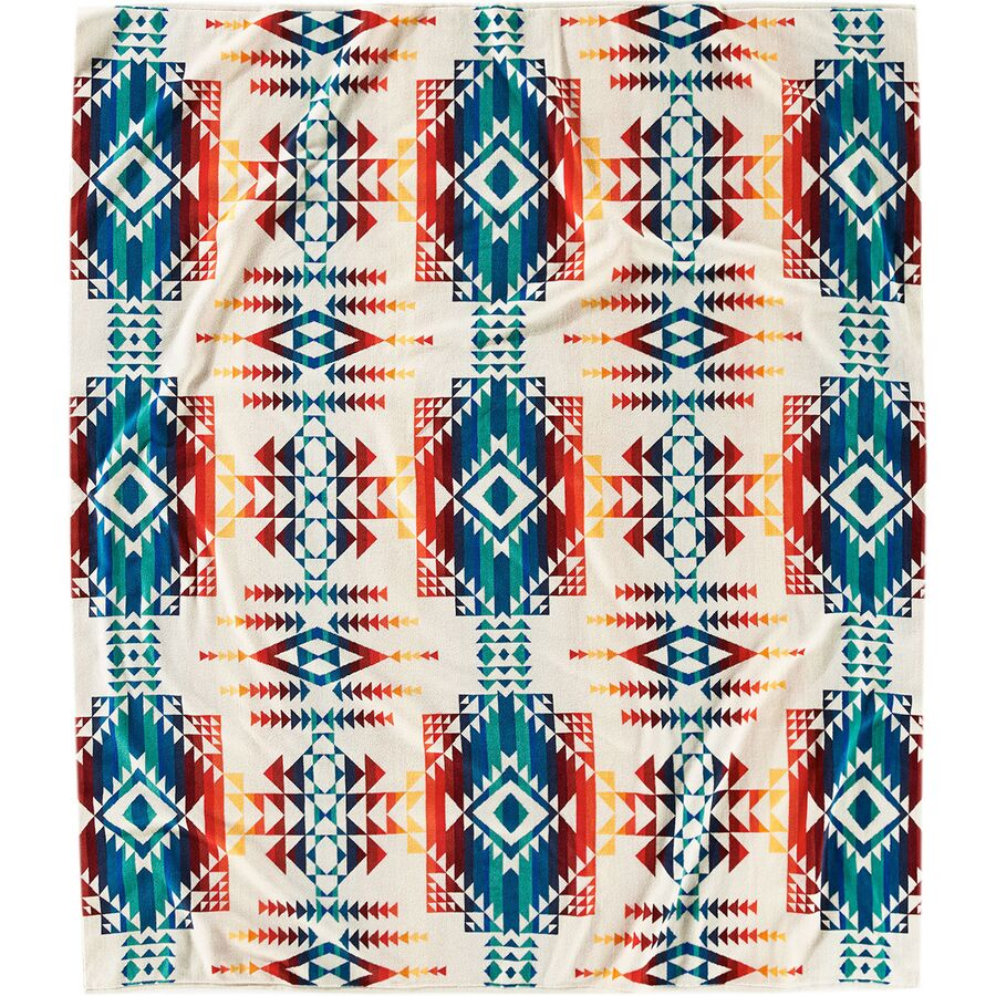 large beach towel with colorful design by Pendleton