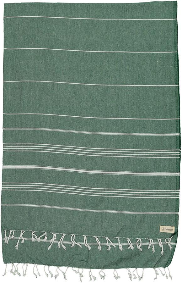 oversized turkish beach towel - green