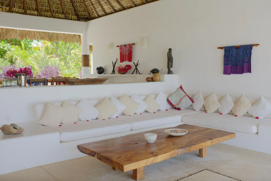 Where to stay in Puerto Escondido for surfing - Luxury beachfront vacation rental