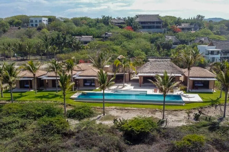 Where to stay in Puerto Escondido for surf - Luxury oceanview vacation rental