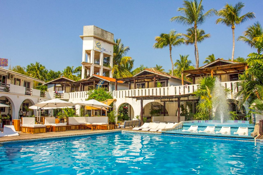 Where to stay in Puerto Escondido for surfing - Bungalows Zicatela